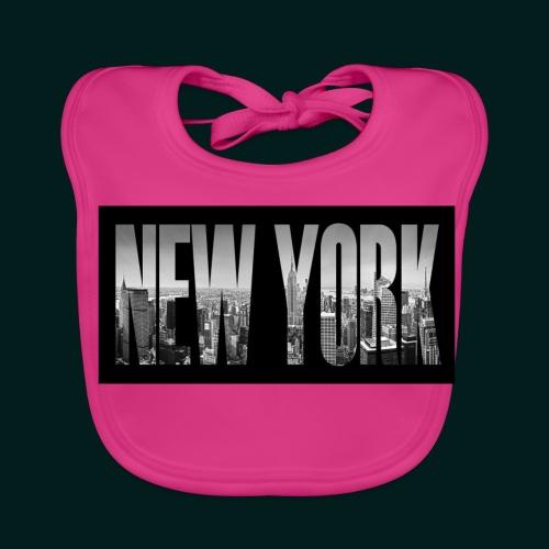 new-york-city-manhattan-overlook-melanie-viola - Ekologisk babyhaklapp