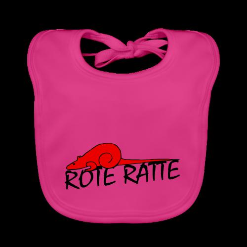 Rote_Ratte - Baby Bio-Lätzchen