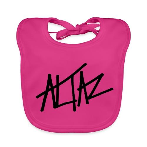 Altaz Clean Logo - Ekologisk babyhaklapp