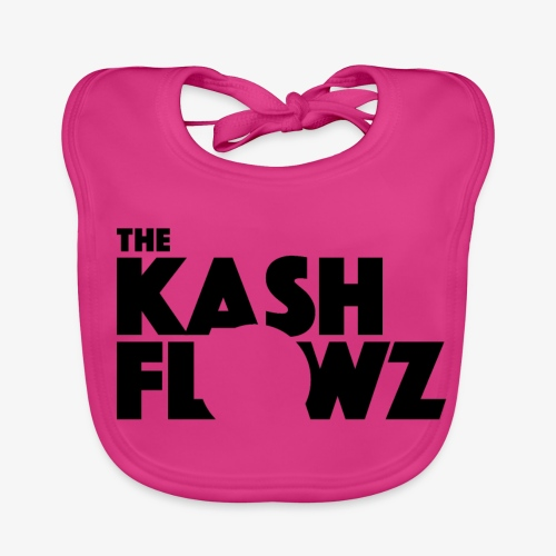 The Kash Flowz Official Black - Bavoir bio Bébé