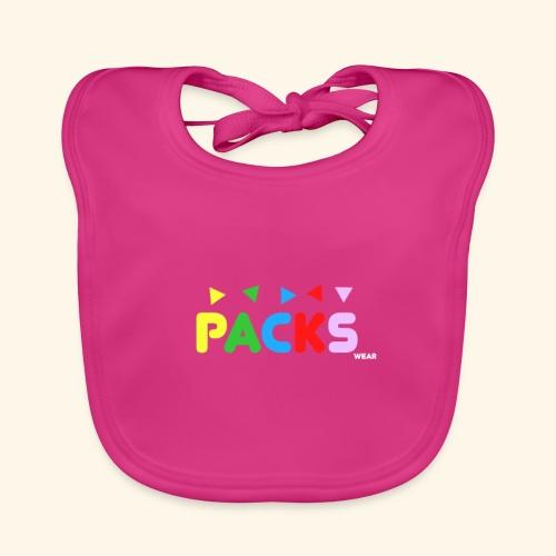 PACKSwear Logo Hoodie - Baby økologisk hagesmæk