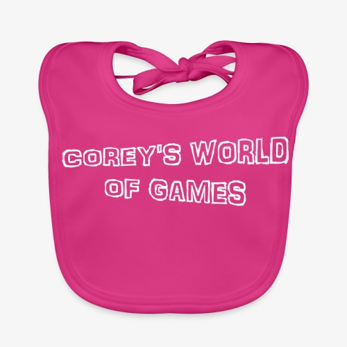Coreys World Of Games - Baby Organic Bib