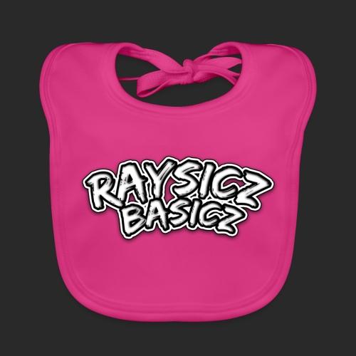 Raysicz Basicz Schrift - Baby Bio-Lätzchen