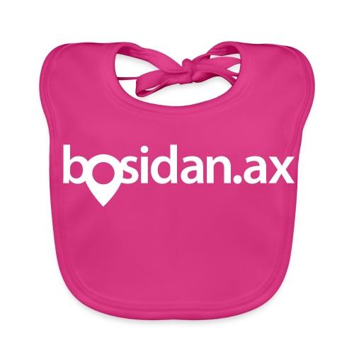 Bosidan.ax officiella logotypen - Ekologisk babyhaklapp
