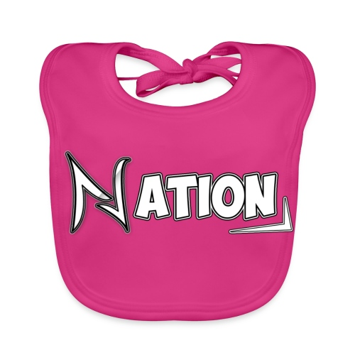 Nation Logo Design - Baby Organic Bib