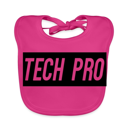Tech Pro Official Logo - Baby Organic Bib