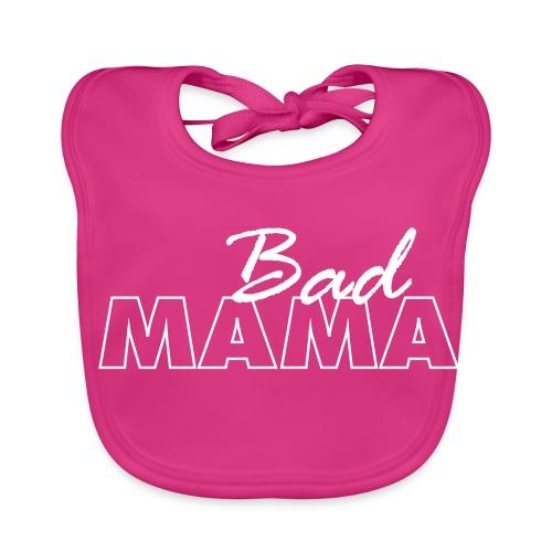 badmama-tekst - Bio-slabbetje voor baby's