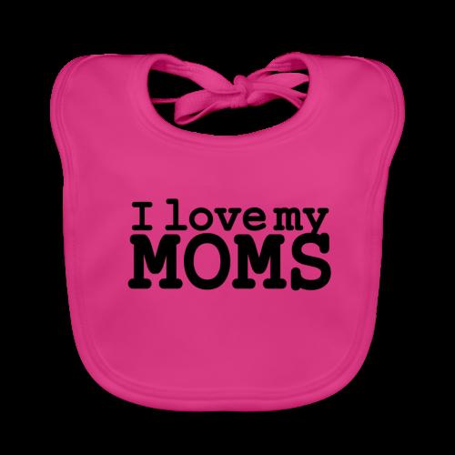 I love my moms - Bio-slabbetje voor baby's