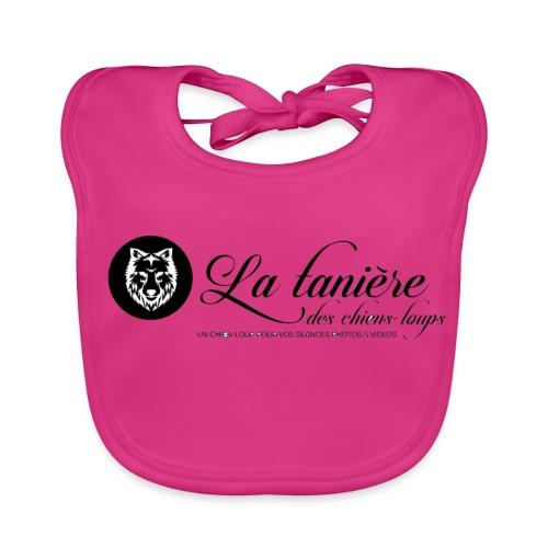 La Tanière des Chiens-Loups(logo plus grand) - Bavoir bio Bébé