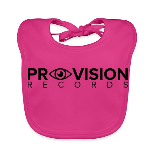 Provision T-Shirt (White) - Baby Organic Bib