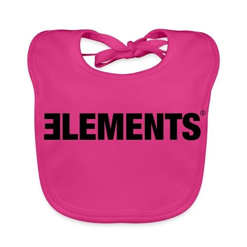 Schriftzug Elements - Baby Bio-Lätzchen