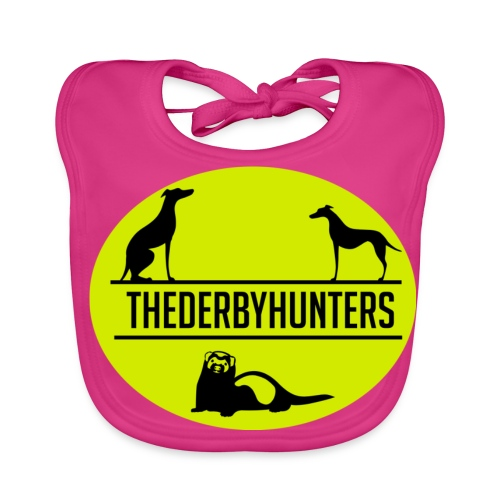 the derby hunters-yellow - Baby Organic Bib