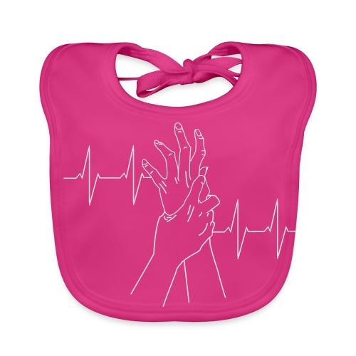 heartbeat - Baby Organic Bib