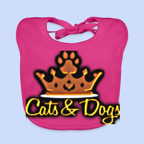 Official Cats&Dogs - Baby Organic Bib