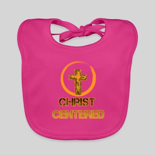 Christ Centered Focus on Jesus - Baby Bio-Lätzchen
