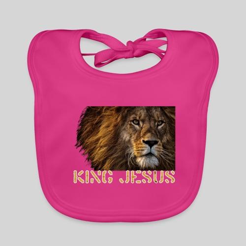 König Jesus der Löwe von Juda - Baby Bio-Lätzchen