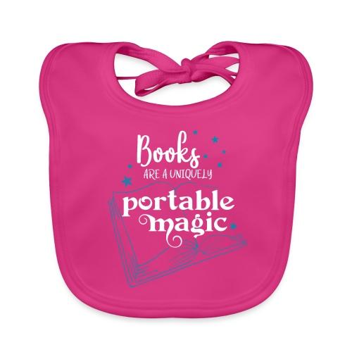 0030 books are unique magic | Magic - Baby Organic Bib