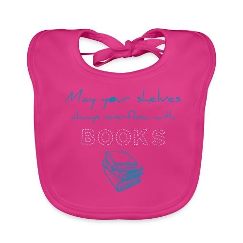 0039 Full bookshelves are a dream | Read - Baby Organic Bib