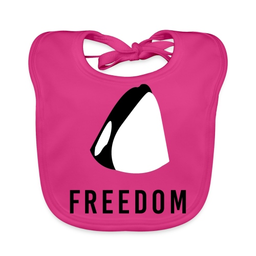 Whales for Freedom - Baby Organic Bib