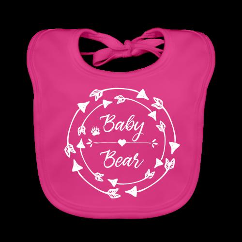 Baby Bear - ethno Indianer Pfeile - Baby Bio-Lätzchen