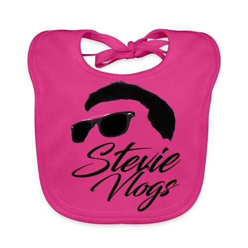 Stevie Vlogs Logo - Baby Organic Bib