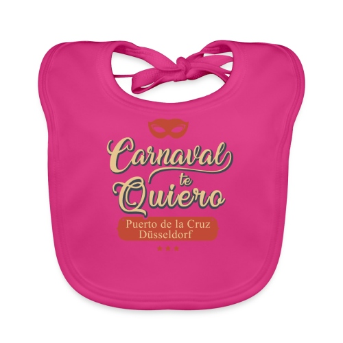 Carnaval te quiero - Baby Bio-Lätzchen
