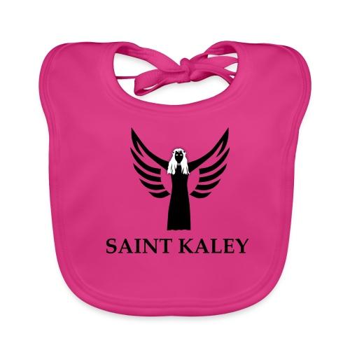 SaintKaley Logo Black - Baby Bio-Lätzchen