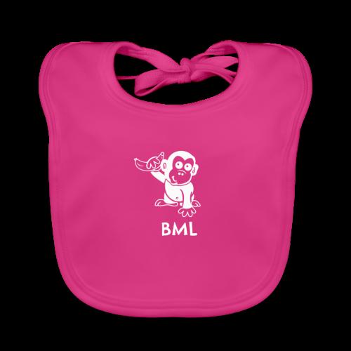 BestMonkeyLearning Logo - Baby Organic Bib