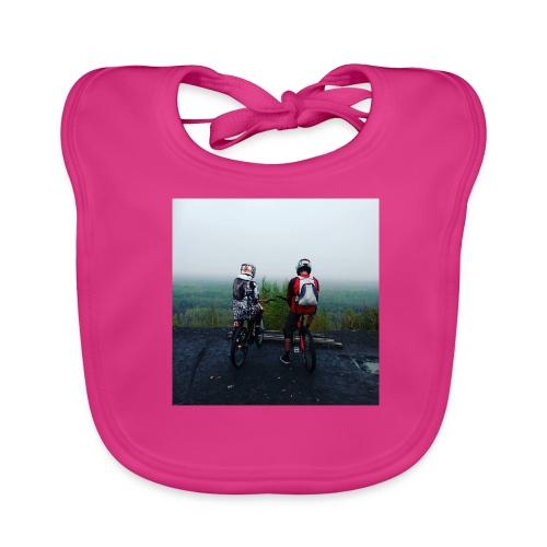 Photo de nos Rider (pull) - Bavoir bio Bébé