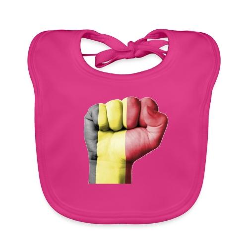 La résistance Belge - Bavoir bio Bébé