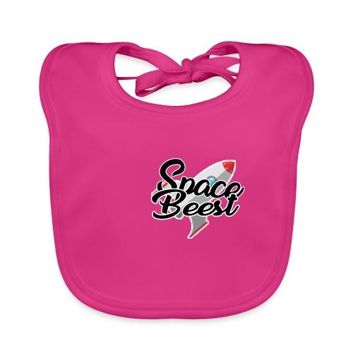 Logo, SpaceBeest - Bio-slabbetje voor baby's