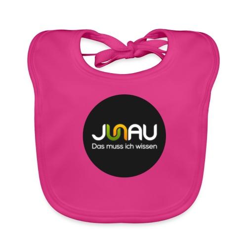 JUNAU - Das muss ich Wissen (rund) - Baby Bio-Lätzchen