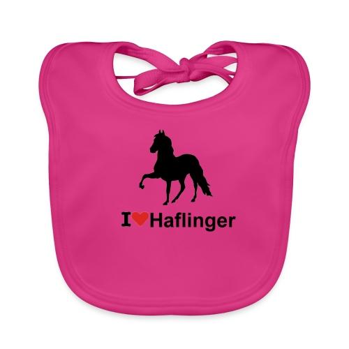 I Love Haflinger - Baby Bio-Lätzchen