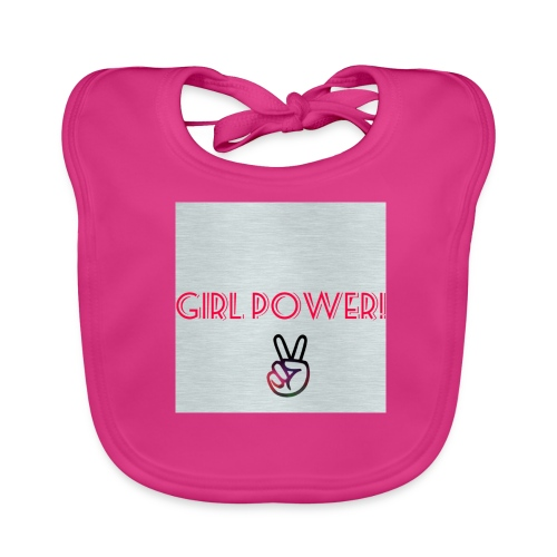 Girl Power! - Baby Organic Bib