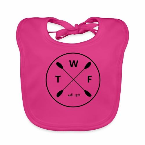 TWF Schwarz 3 - Baby Bio-Lätzchen