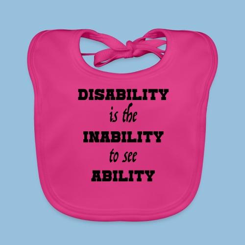 Ability4 - Bio-slabbetje voor baby's