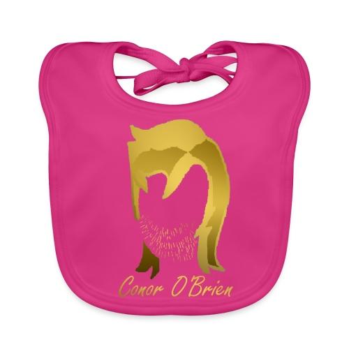 The Golden Logo - Baby Organic Bib