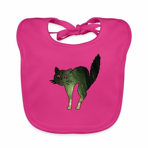 Le chat de la Peur - J'peux pas j'suis un Chat - Bavoir bio Bébé