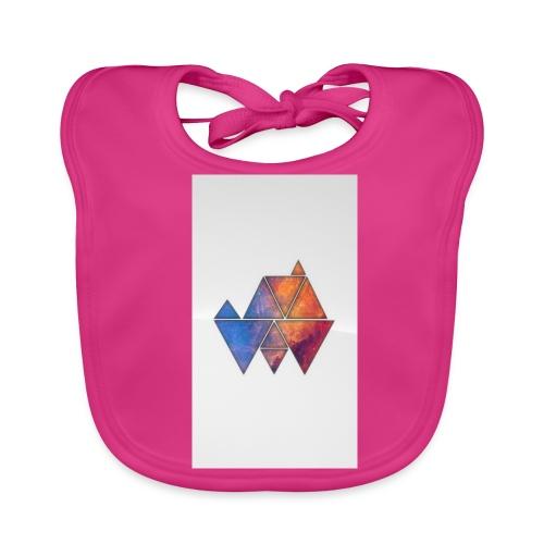 Colourful_Triangles - Baby Bio-Lätzchen