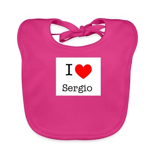 i love sergio - Bavoir bio Bébé