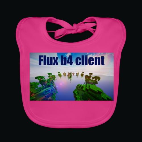 Flux b4 client shirt - Ekologisk babyhaklapp