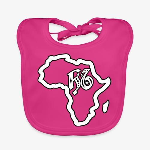 afrika pictogram - Bio-slabbetje voor baby's