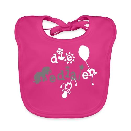 DM Baby Logo Mädchen - Baby Bio-Lätzchen