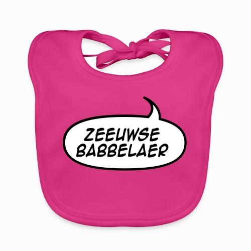 Zeeuwse Babbelaer - Lekker Zeeuws - Bio-slabbetje voor baby's