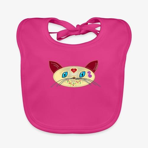 GATO PAOART - Babero de algodón orgánico para bebés