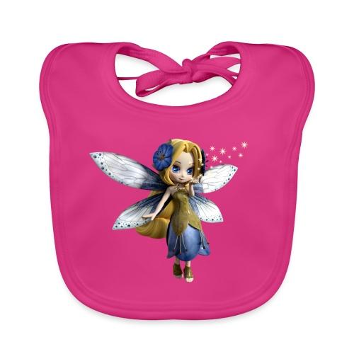 Blue-Sternchen Fairy - Baby Bio-Lätzchen