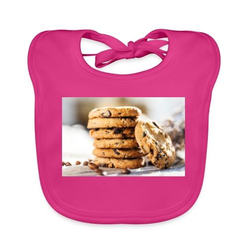 american cookie afdruk/print - Bio-slabbetje voor baby's