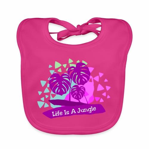 Life is a jungle - Baby Organic Bib