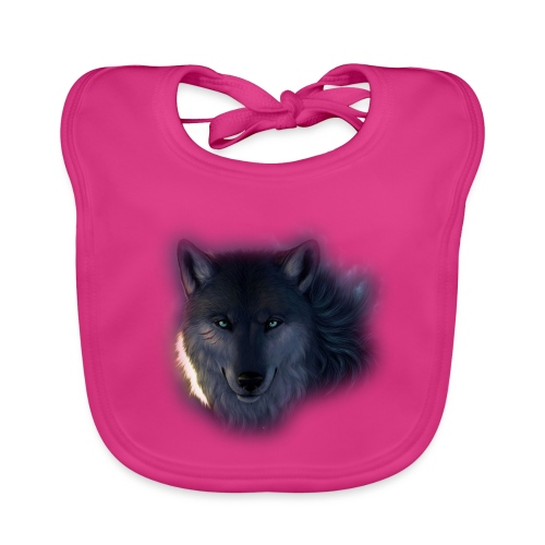 Wolf Power Edition - Baby Organic Bib