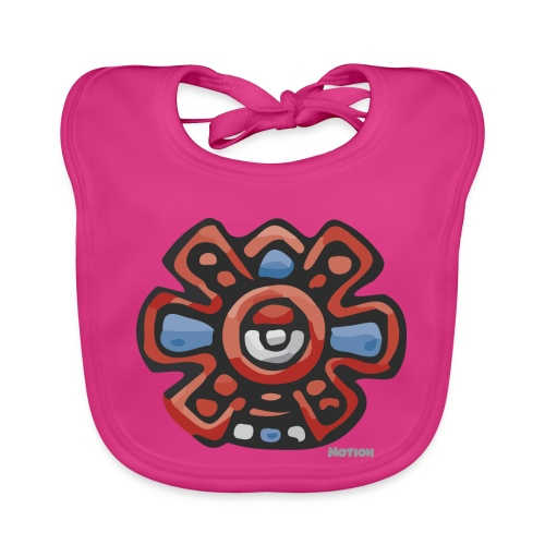Aztec Motion Earth - Organic Baby Bibs